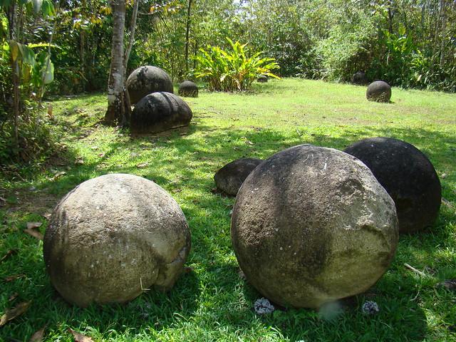 Pre-Columbian stone spheres