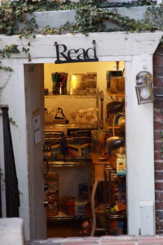 Store doorway: Harper's Ferry, VA