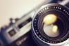 Yashica Electro 35, Lens close-up by dareppi