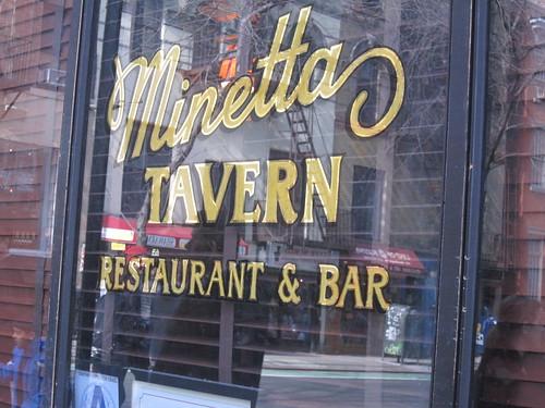 Minetta Tavern, Greenwich Village. Nyc