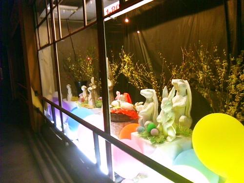 Easter Window display by Eric Broder Van Dyke