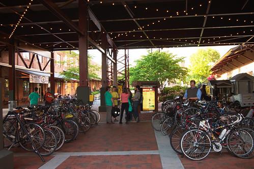 Bike Parking at ATT