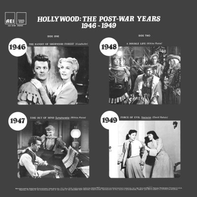 Various Artists - Hollywood: The Post-War Years b