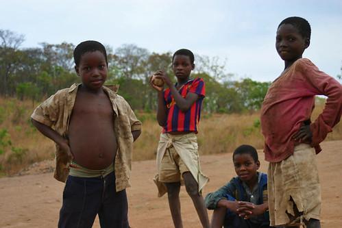 Young Boys Posing - Malawi