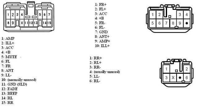 1999 toyota radio wiring diagram fujitsu