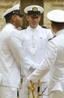 Sailors in Cartagena