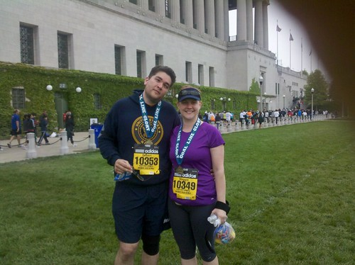Soldier Field 10 Mile ... done! #sf10