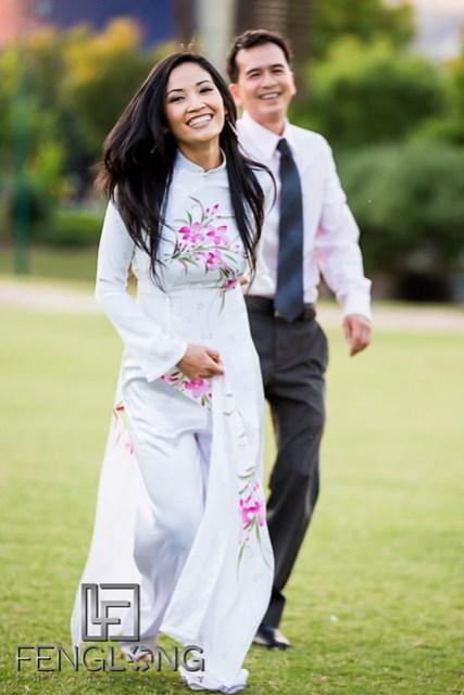 Anh & Tan's Engagement Session | Centennial Olympic Park & Downtown Atlanta | Atlanta Vietnamese Wedding Photographer