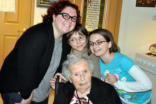 a visit with greatgrandma