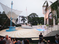 The Singapore Repertory Theatre's Twelfth Night (Shakespeare in the Park), Fort Canning