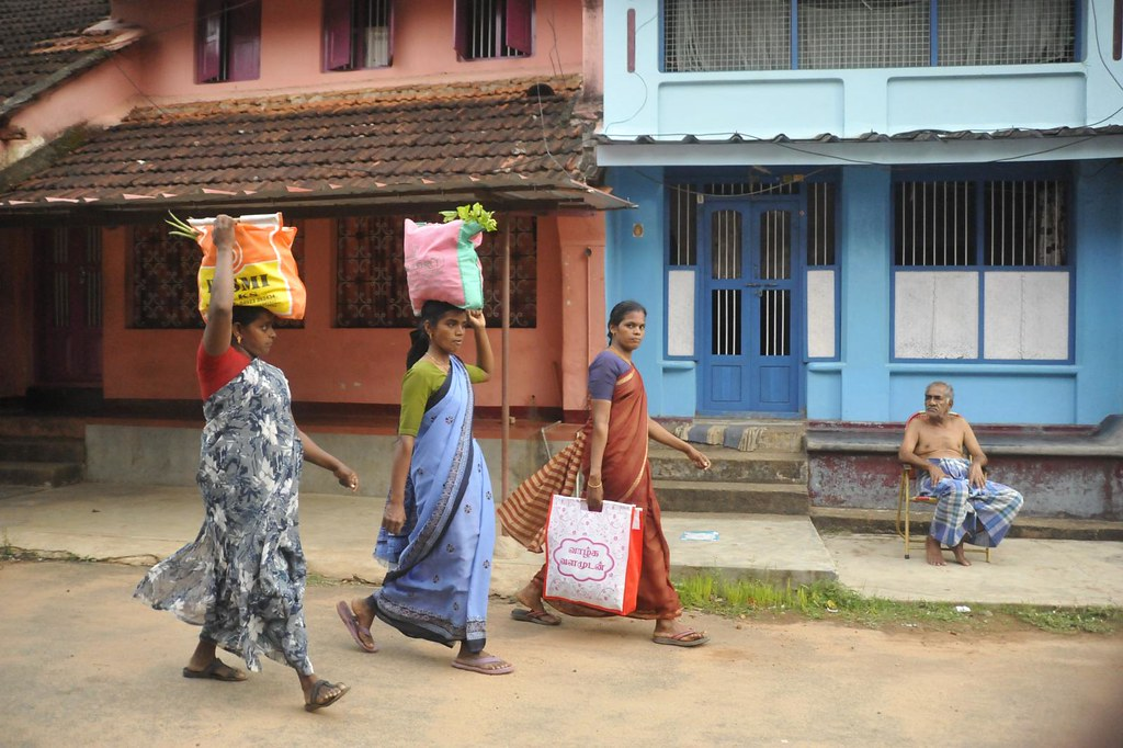 Many a times you are in public, crowd, or even on a busy street, yet alone. Volvakode, Kerala, India