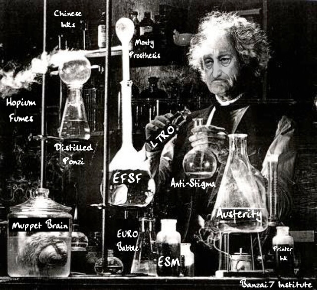 DR DRAGHI'S LABORATORY
