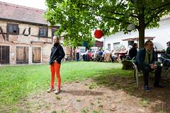 Im Hof von Haus Steinbach