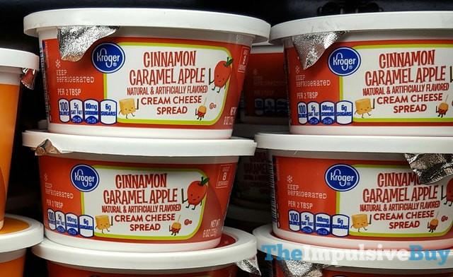 Kroger Cinnamon Caramel Apple Cream Cheese Spread