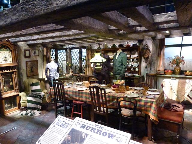 Weasleys House Harry Potter Tour Warner Bros Studios