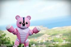 Pink Bearguy at Cape Bojeador Lighthouse