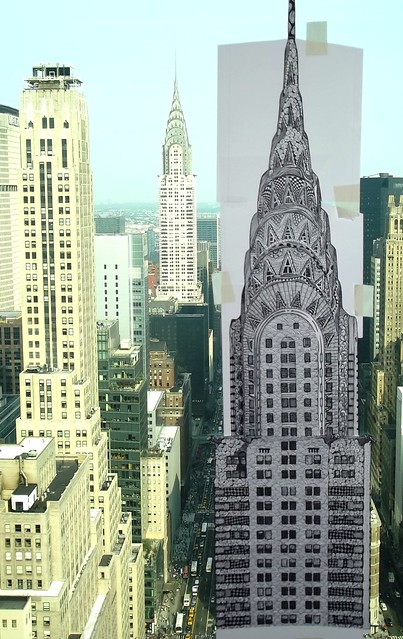Work in Progress: Side by side 3, (Almost done): THE CHRYSLER BUILDING