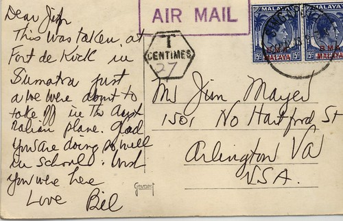 Postcard from Malaya 1948