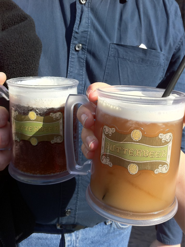 Butterbeer! Frozen and regular!
