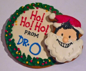© Cookievonster 2010 -Custom Christmas Cookie gifts