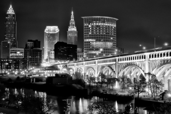 Downtown Cleveland Ohio Skyline - Sharing