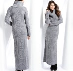 Sweater with Maxi Dress