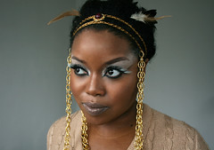 Kanye West Runaway Inspired Phoenix Bird Makeup and Headdress