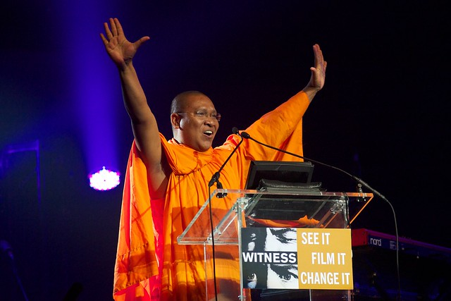Venerable Luon Sovath at WITNESS' 6th Annual Focus for Change Gala