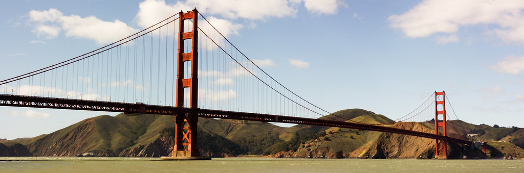 Golden Gate Bridge Panorama 2009