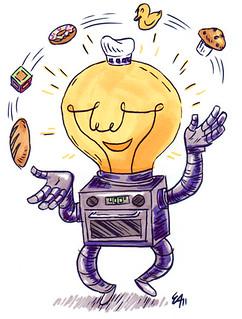 Robot - Child-like Intelligent Baker