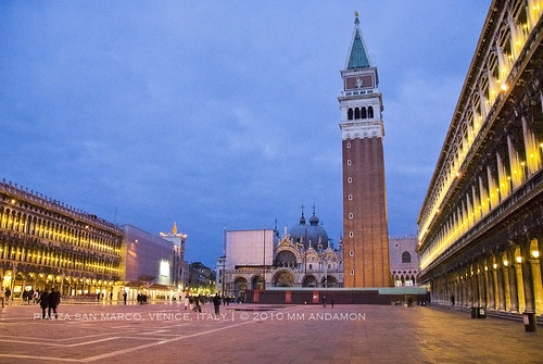 Twilight at Piazza San Marco
