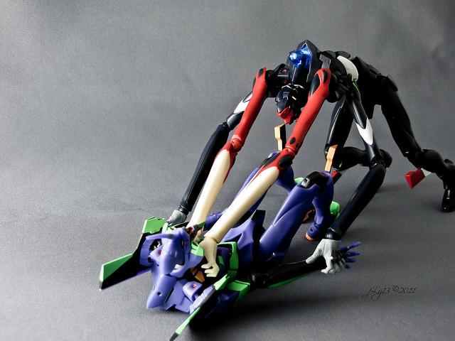 Robot Spirits Evangelion EVA-00 EVA-03