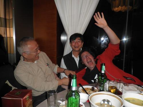 with Nakao and Nokura sensei