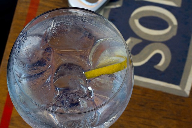Gin tonic en Badajoz