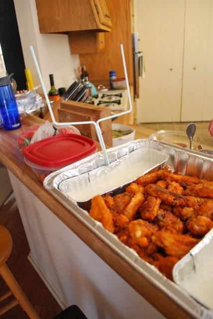Chicken Wings Snack Stadium