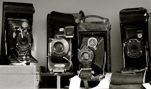 Old Cameras at Bijou Galleries - Cold Spring, NY
