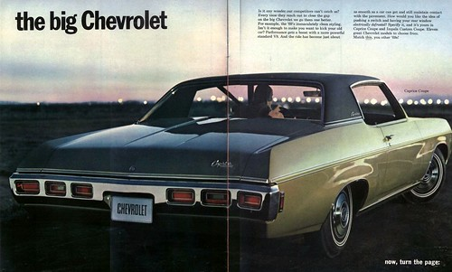 New for 1969 - The Big Chevrolet Ad