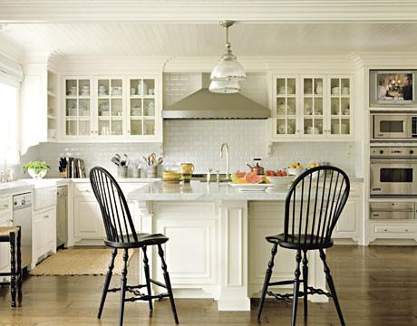 Gorgeous white kitchen Benjamin Moore White Dove  Flickr  Photo Sharing