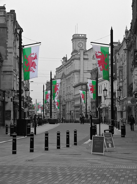 St David's Day Preparations 2011