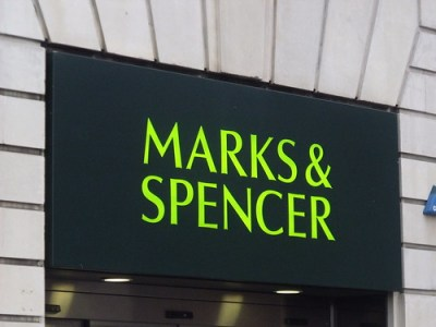 Marks & Spencer - Carrs Lane - sign (corner with Moor Street Queensway)