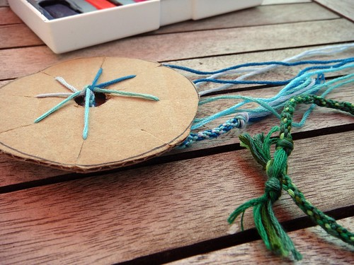 52 crafts in 52 weeks: Kumihimo friendship bracelets