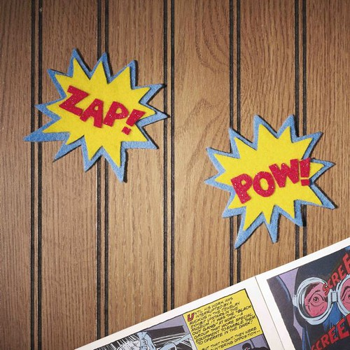 POW! ZAP! Magnets at CRAFT:!