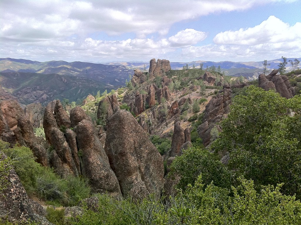 pinnacles in Pinnacles, by Michael Geminder