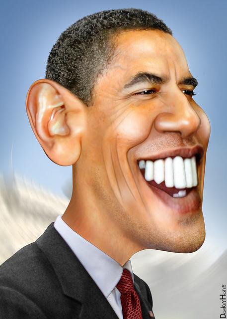 Barack Obama  Caricature  Flickr  Photo Sharing