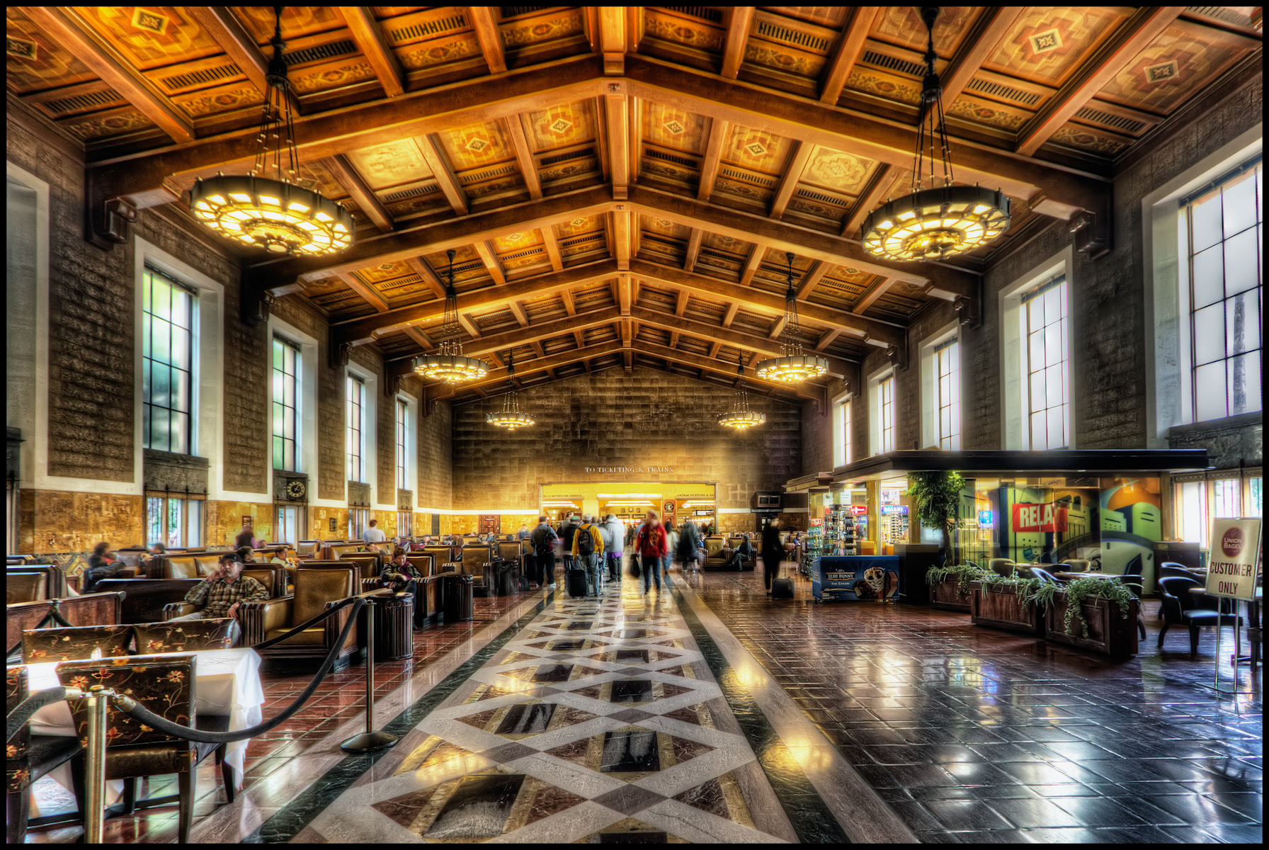 Los Angeles Union Station Flickr Photo Sharing