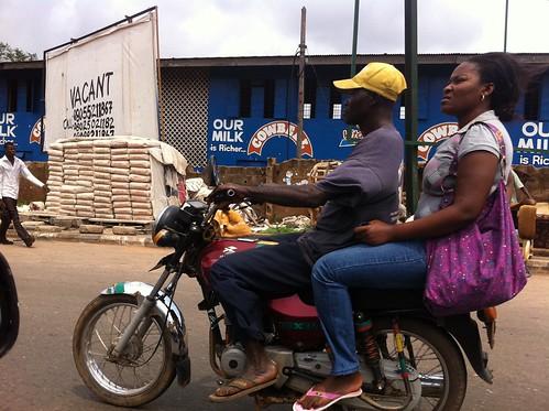 Mokola - Ibadan - Oyo State, Nigeria - Okada by Jujufilms