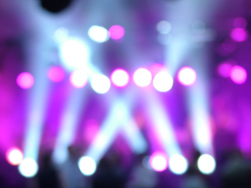 Blurred Light Beams