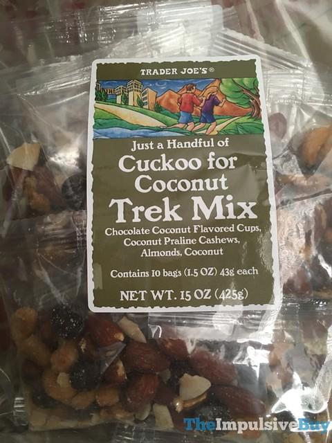 Trader Joe's Cuckoo for Coconut Trek Mix