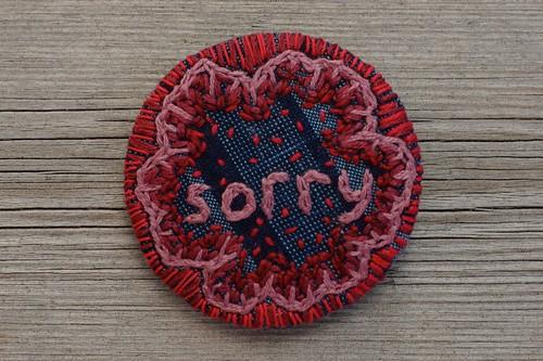"National Apology Day 2014,  ""National Sorry Day"" badge - Australia"