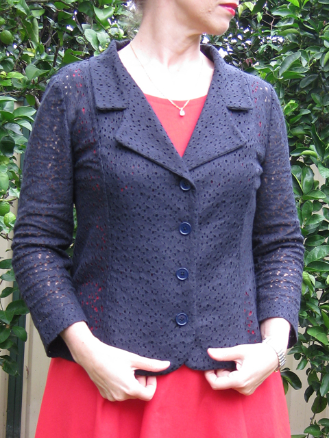Kwik Sew 3334 with Notched Collar